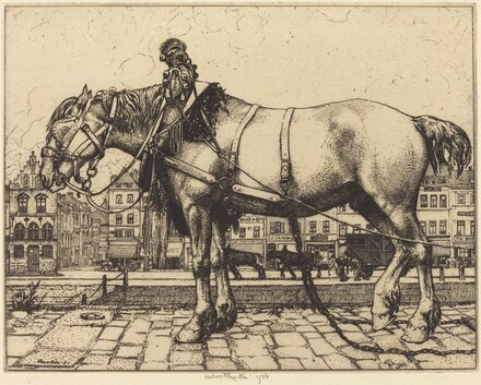 The Horse of Ostend