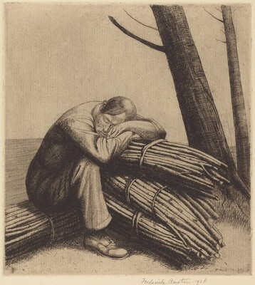 A Woodman Resting