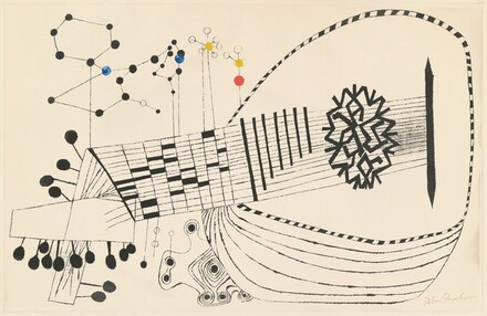 Lute and Molecules, No.2