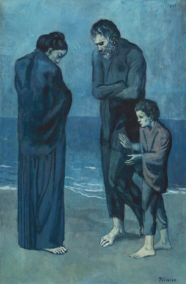 Pablo Picasso\'s The Tragedy