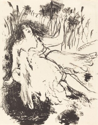 From Le crepuscule des nymphes (illustration, page 17)