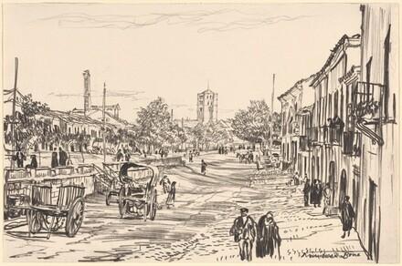 Street in Zamora