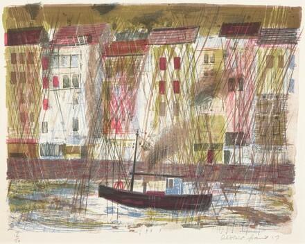Rain at Honfleur