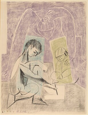 The Young Draughtsman (Petit dessinateur)