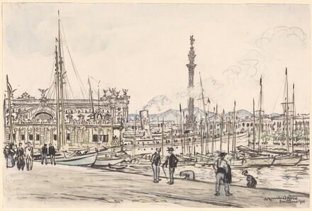 Barcelona Harbor