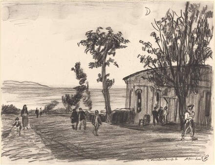 Old Farmhouse, Constantinople