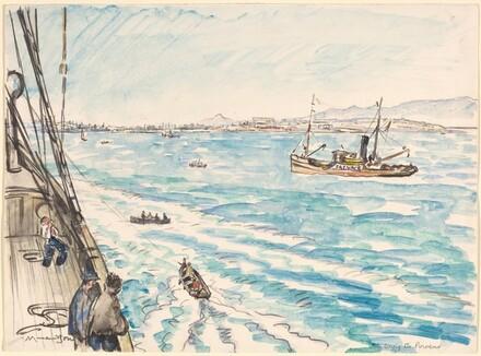 Entering the Piraeus
