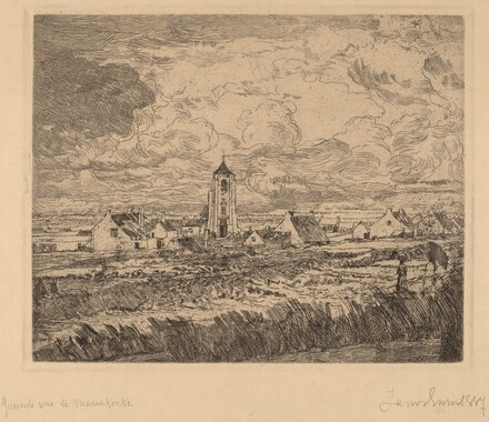 Large View of Mariakerke (Grande vue de Mariakerke)