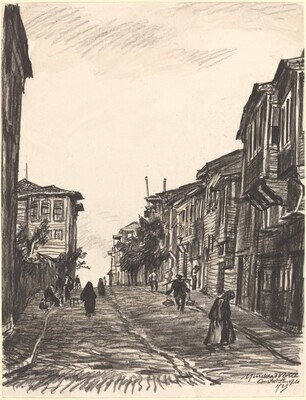 Street in Matcha Suburb, Constantinople