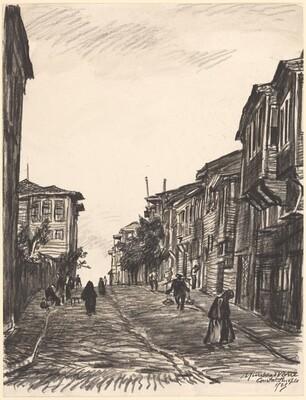 Street in Matcha Suburb, Constantinople