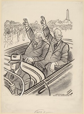 Eisenhower and Krushchev