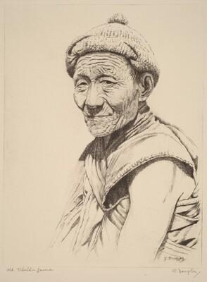 Old Tibetan Lama