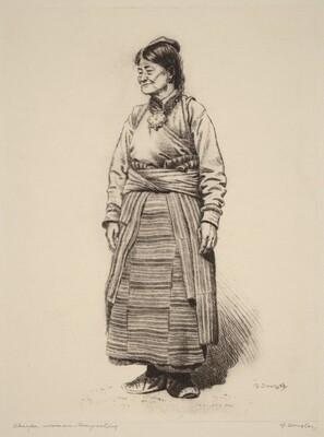 Sherpa Woman, Darjeeling
