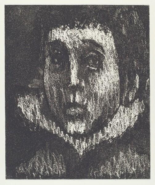 Head of a Mummer