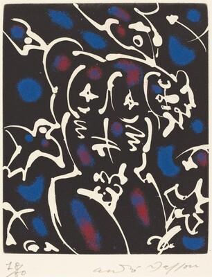 Illustration for 'Mines de rien' by Robert Desnos
