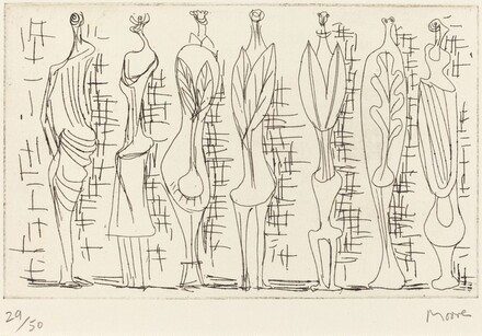 Standing Leaf Figures
