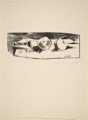 Le couteau et la pomme (Knife and Apple)