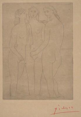 Three Bathers I (Les trois baigneuses I)