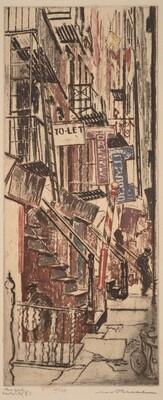 New York: Allen Street