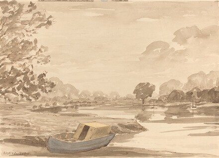 On the Thames, above Richmond
