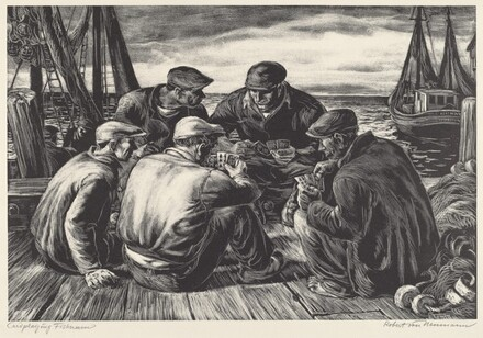 Card-Playing Fishermen