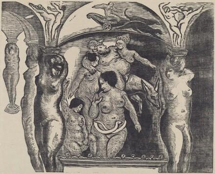 Pantagruel: Livre V, Chapter XXXVI - Les Fresques