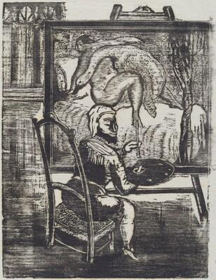 Gargantua: Le peintre du Roi (a la R.)
