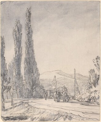 Road in the Marches