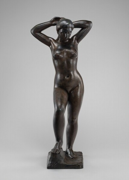 Bather with Raised Arms
