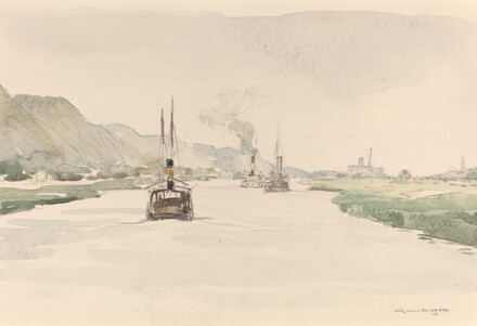 In the Gota Canal