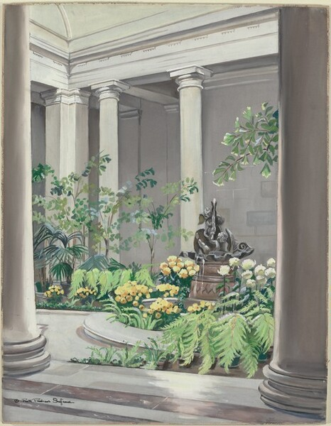 West Court, National Gallery of Art