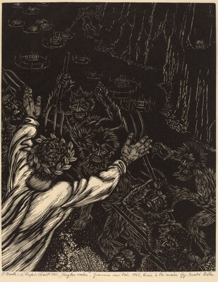 Dante: L'enfer, Chant XXI, Ongles sales (Dante's Inferno, Canto XXI, Nasty Claws)
