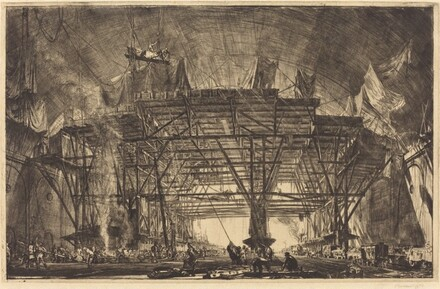 The Great Gantry, Charing Cross Station