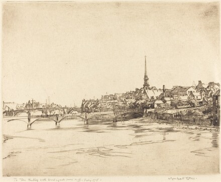 Ayr, from the River