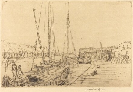 Canal Boats, Near Amsterdam