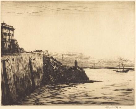 Evening, Port of Genoa