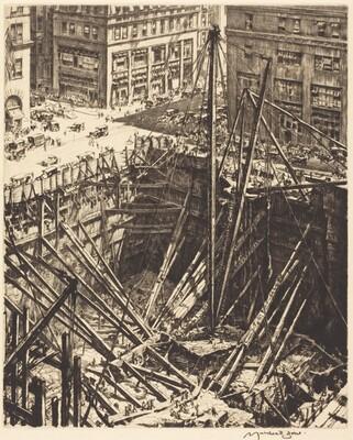A Manhattan Excavation