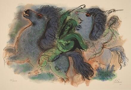 Horseman in the Negev