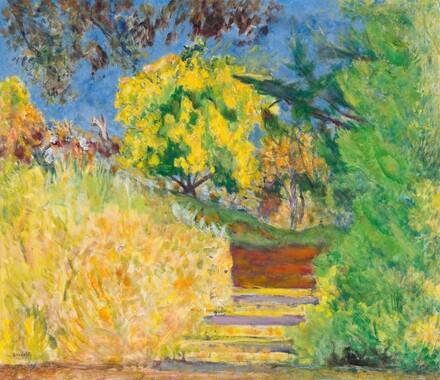 Stairs in the Artist's Garden