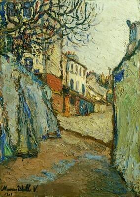 Rue Cortot, Montmartre