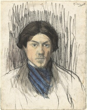 Pablo Picasso, Self-Portrait, 1901/19021901/1902