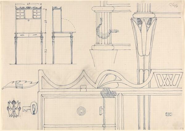 Design for a Desk, with Details