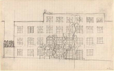 Sketch for a Building Exterior
