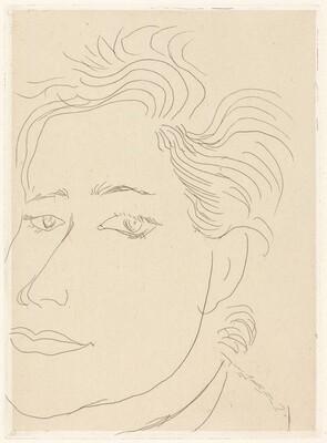 Outamaro (Portrait of Margot Matisse?)