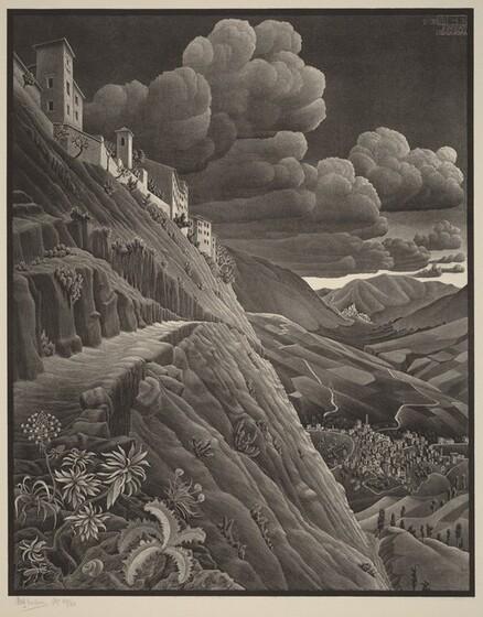 Mc Escher Life And Work
