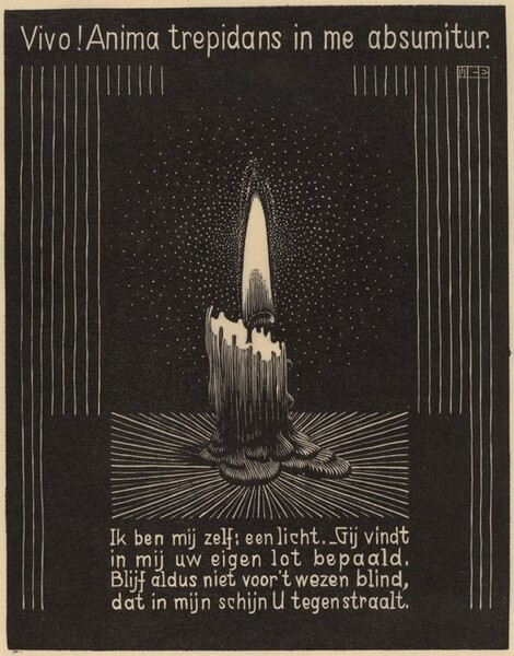 Emblema XI, Candle Flame