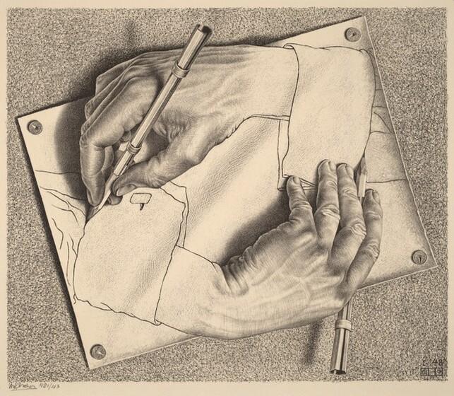 M C  Escher — Life and Work
