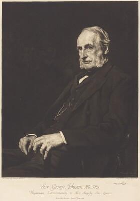 Sir George Johnson, M.D., F.R.S.