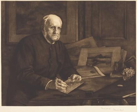 Sir Francis Seymour Haden, P.R.E.