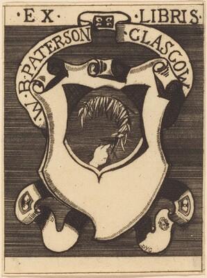 Bookplate of W.B. Paterson